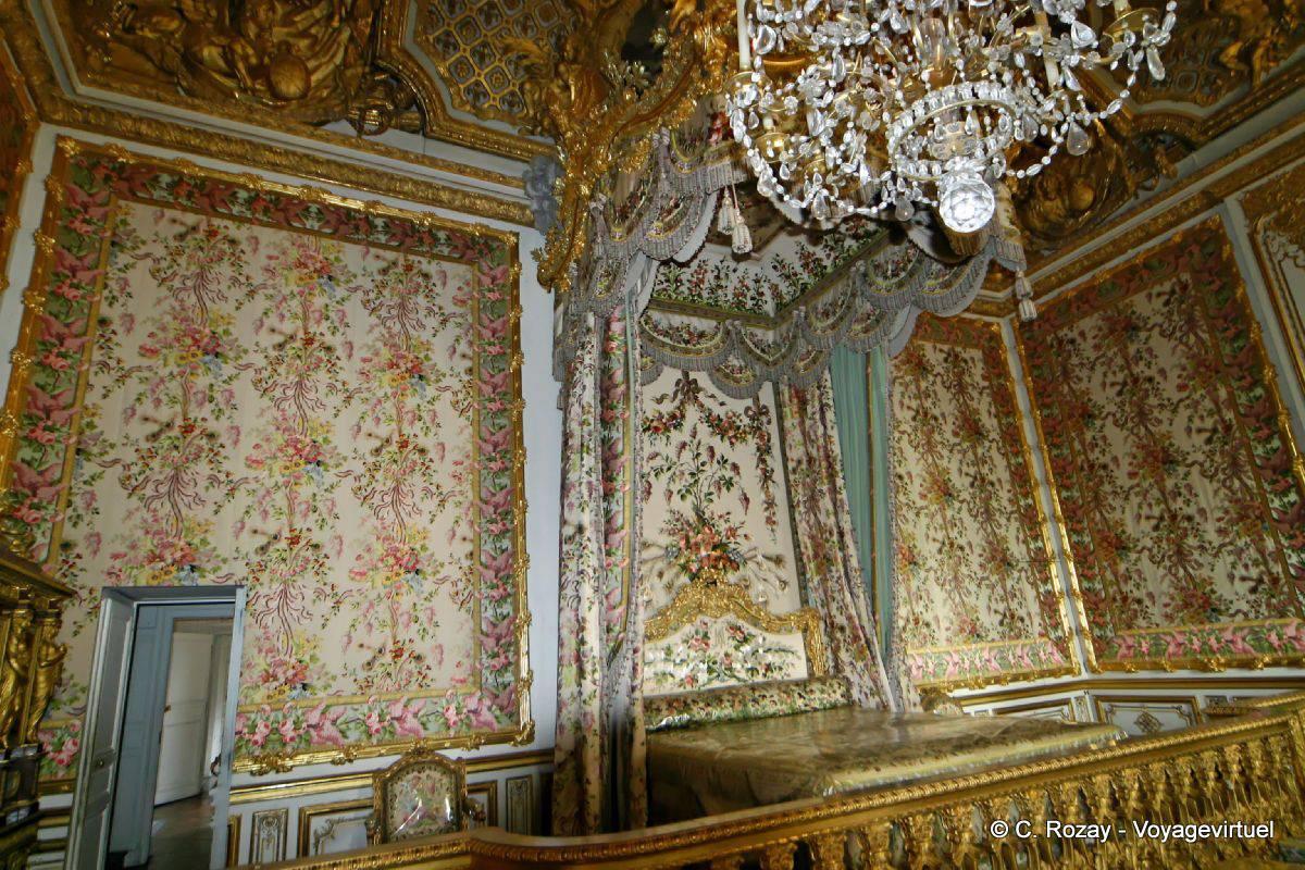 Tapisserie de la Chambre de la Reine, Versailles