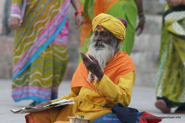Saddhu in Pushkar