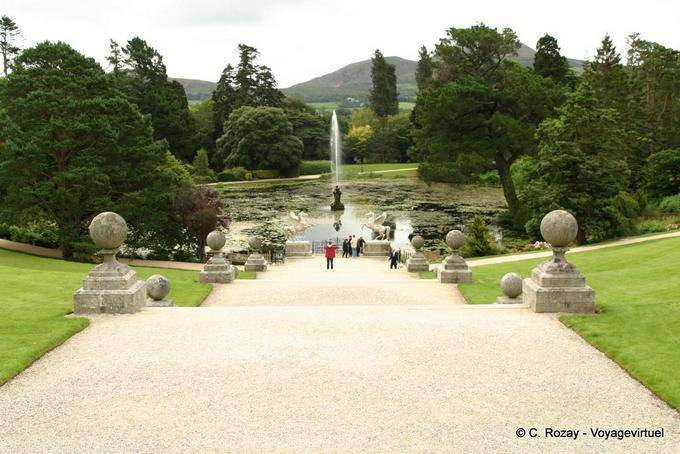 Jardin de Powerscourt, Irlande 5680