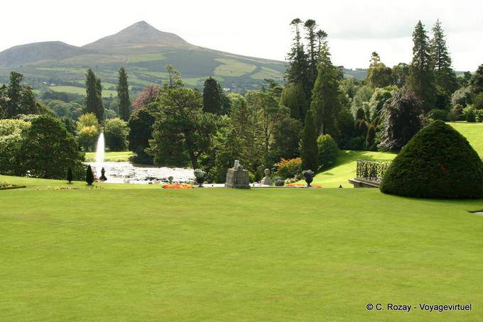 Jardin de Powerscourt, Irlande 5747