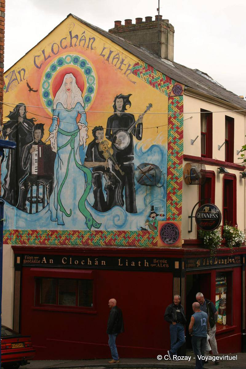 An Clochán Liath Peinture Murale Sur Waterloo Street Derry