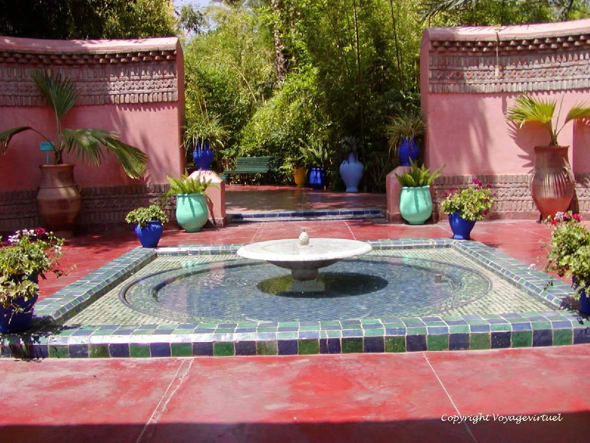 Maroc Jardin Majorelle Marrakech Aimants pour r/éfrig/érateur Verre Cristal pour r/éfrig/érateur Autocollant Ville Voyage Souvenirs Tableau Blanc Maison d/éco Cadeaux