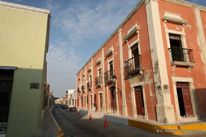 Campeche Calle 55 Angle Calle 15