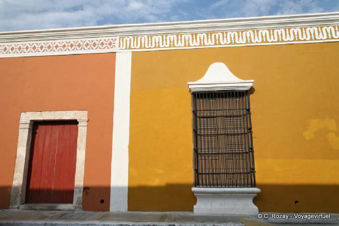 Campeche Calle 59 Couleurs Et Frises 3