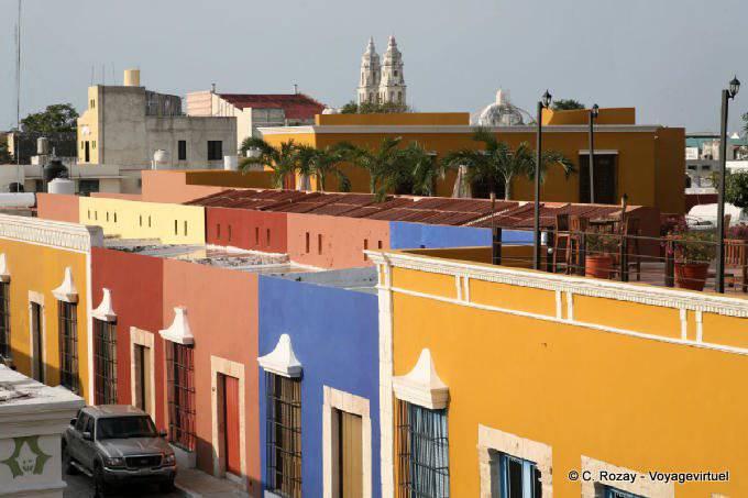 Campeche Calle 59 Vue Des Remparts 5
