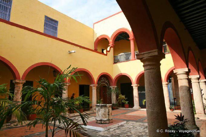 Campeche Casa De Teniente Del Rey 7