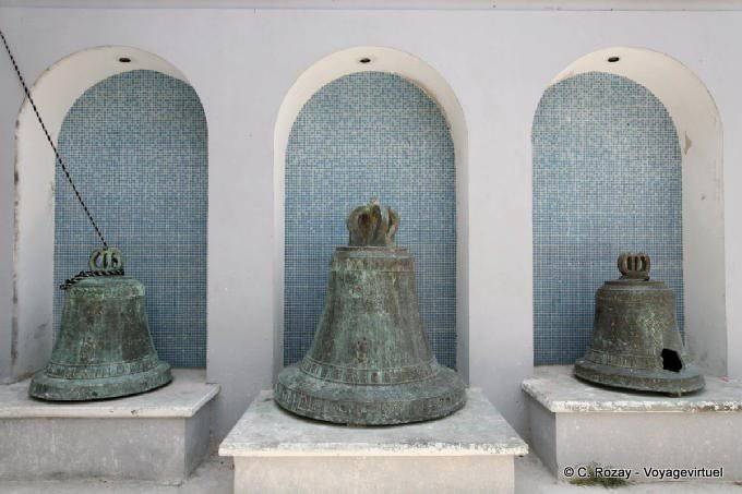Campeche Catedral Anciennes Cloches 18
