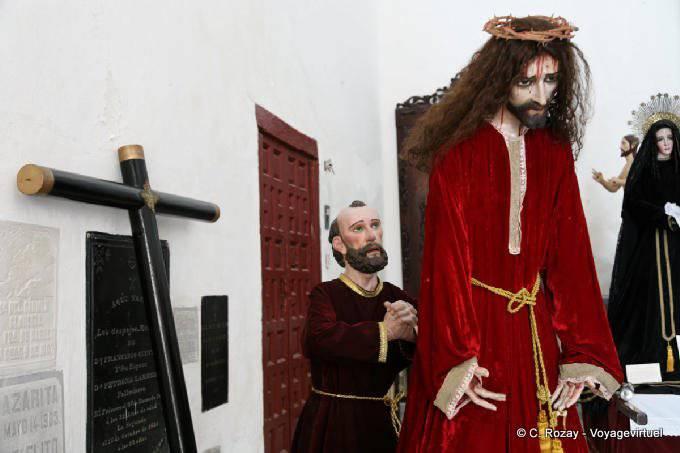 Campeche Catedral Scene De La Crucifixion 15