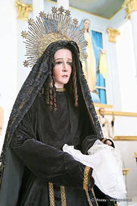 Campeche Catedral Vierge Aux Larmes 14