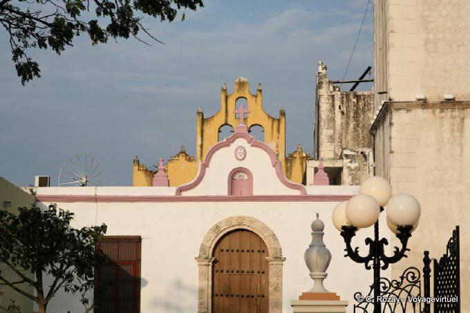 Campeche Chapelle Au Pied De Cathedrale 1