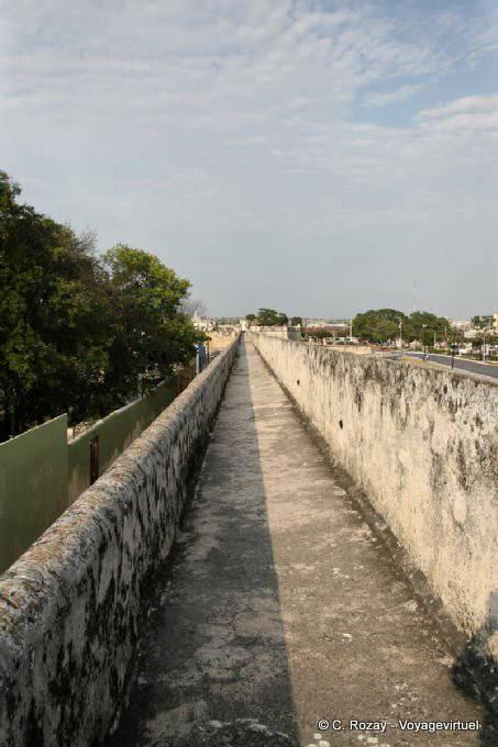 Campeche Remparts Chemin De Ronde 6