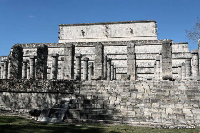 Chichen Itza Grupo De Las Mil Columnas  3