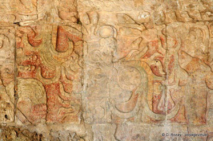 Chichen Itza Temple Des Jaguars 3
