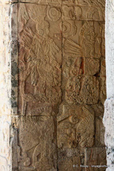 Chichen Itza Temple Des Jaguars 6