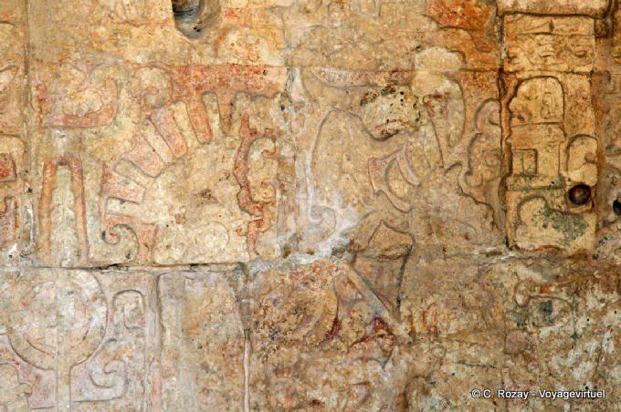 Chichen Itza Temple Des Jaguars 7