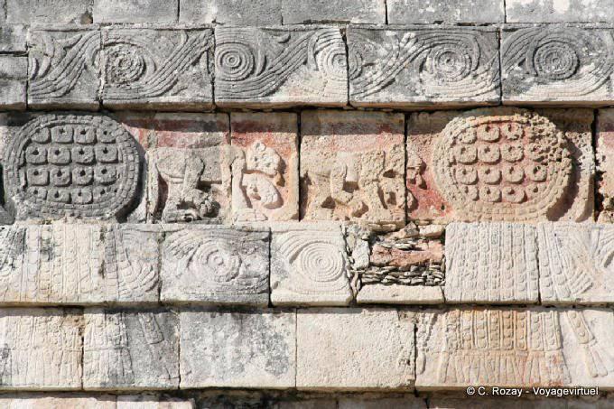 Chichen Itza Temple Des Jaguars Aigles 2