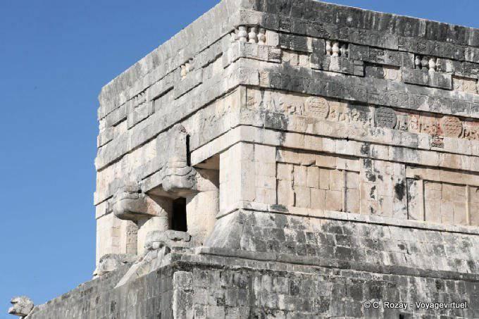 Chichen Itza Temple Des Jaguars Aigles 4