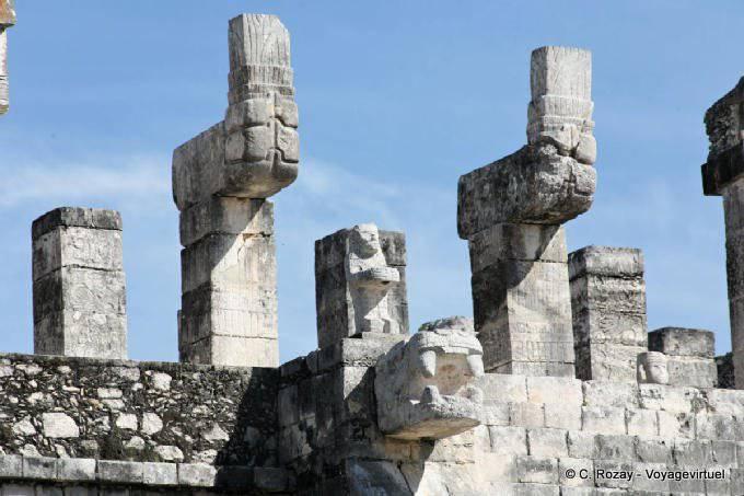 Chichen Itza Templo De Los Guerreros 13