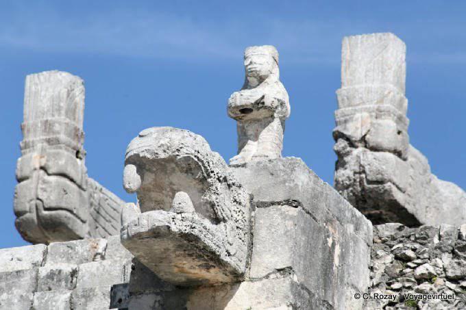 Chichen Itza Templo De Los Guerreros 17
