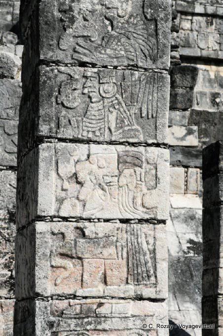Chichen Itza Templo De Los Guerreros 3