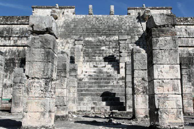 Chichen Itza Templo De Los Guerreros 4