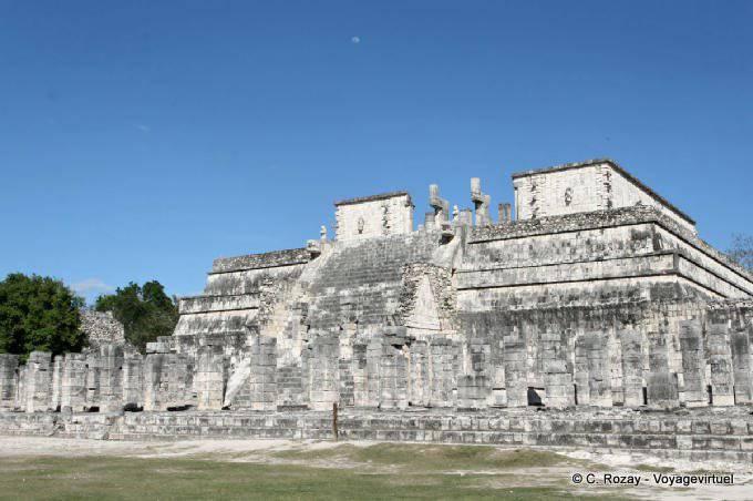 Chichen Itza Templo De Los Guerreros 6