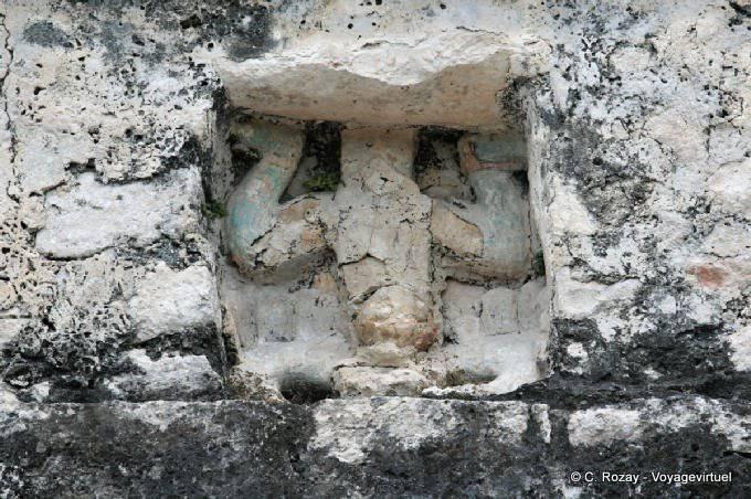 Coba Nohoch Mul Temple Detail 13