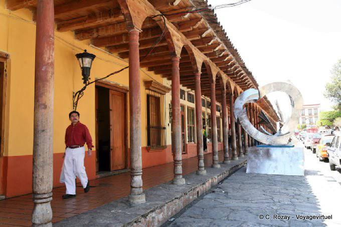 Comitan Chiapas Arcades Zocalo 1