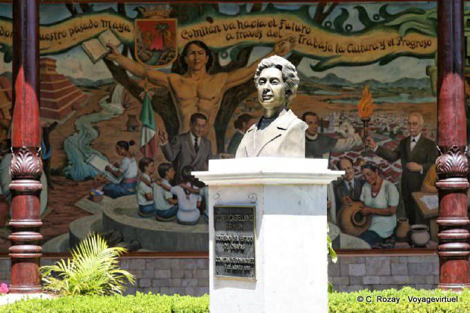 Comitan Chiapas Casa De La Cultura Buste 2