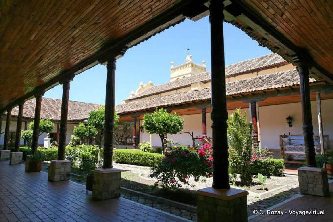 Comitan Chiapas Casa De La Cultura Patio 4