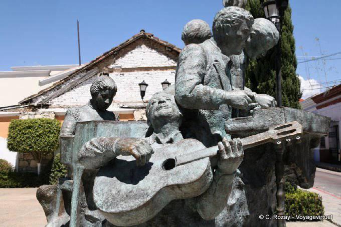 Comitan Chiapas Musicos Sculpture 1