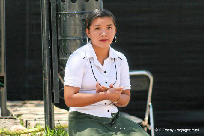 Comitan Chiapas Portrait De Femme