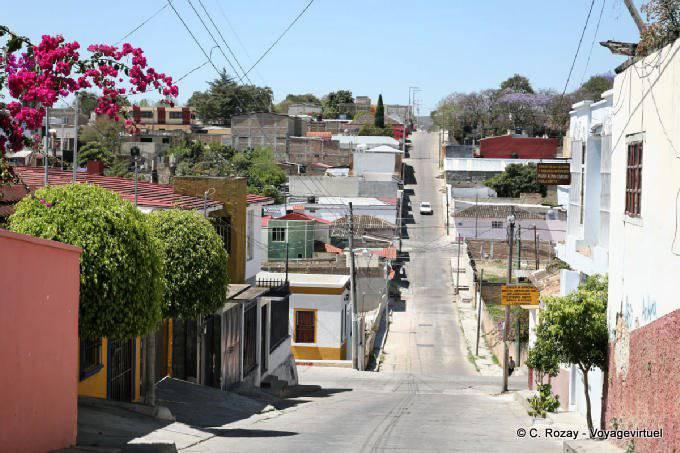 Comitan Chiapas Rue En Pente 19