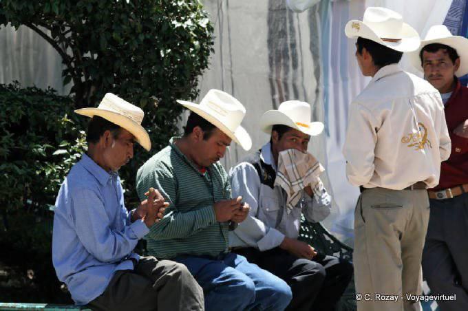 Comitan Chiapas Zocalo Cow Boys 13