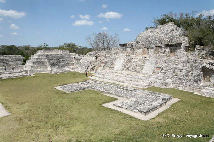 Edzna Templo Del Norte 1
