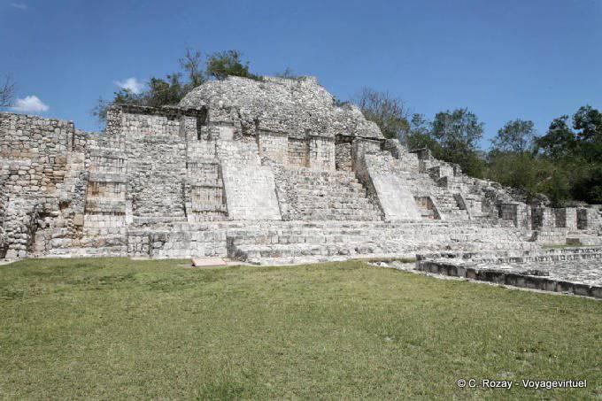 Edzna Templo Del Norte 4