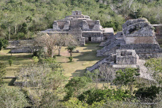 Ek Balam Panorama Du Site 38