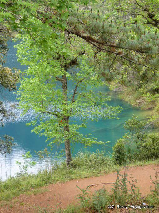 Lagunas De Montebello Laguna Azul 20