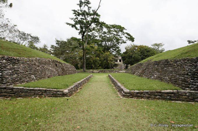 Palenque Jeu De Pelote