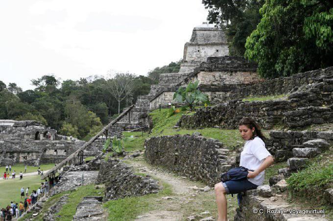 Palenque Palais Tete De Mort 1