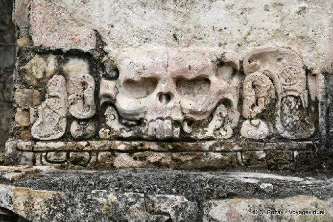 Palenque Palais Tete De Mort
