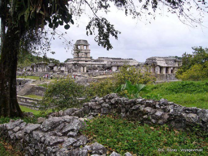 Palenque Panorama Palacio