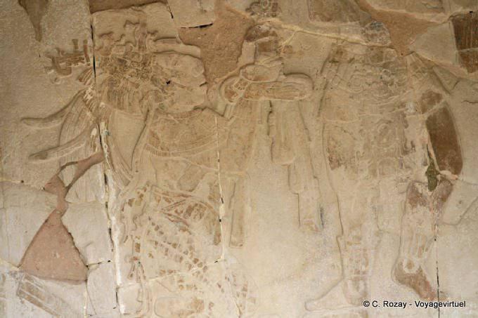 Palenque Templo XIV Offrande Bas Relief 2