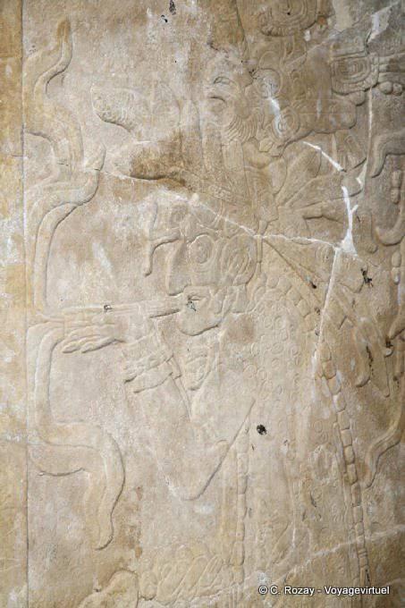 Palenque Templo De La Cruz 6