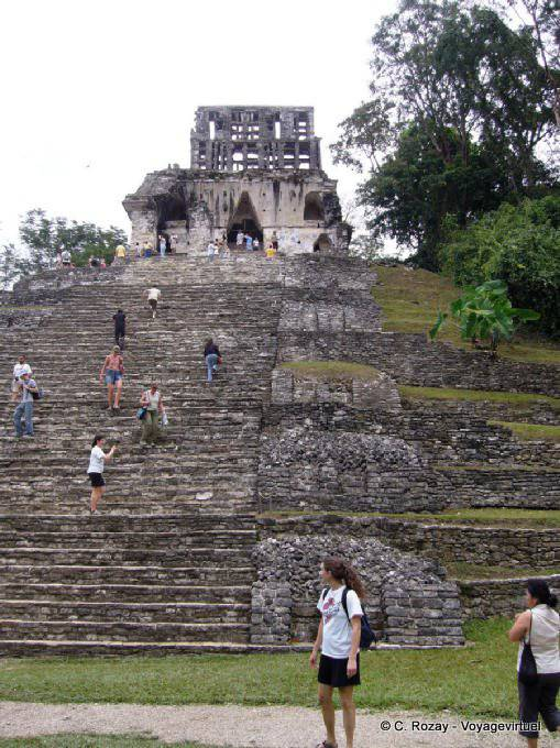 Palenque Templo De La Cruz 7