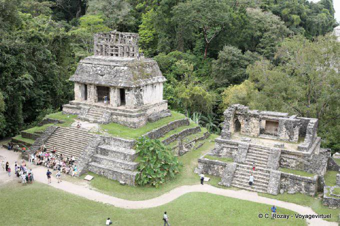 Palenque Templo De La Cruz
