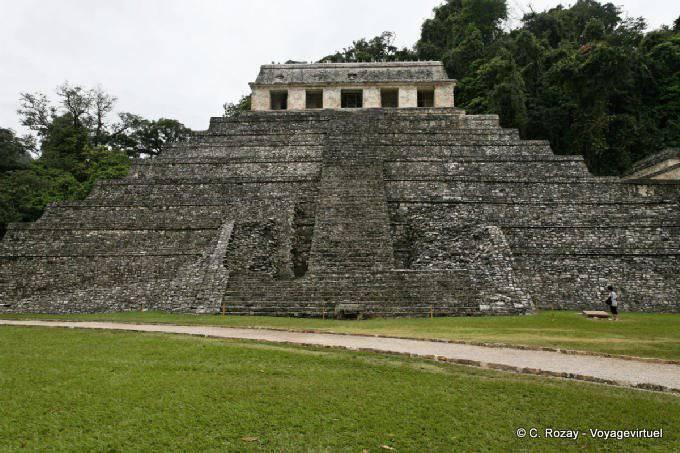 Palenque Templo De Las Inscripciones 1