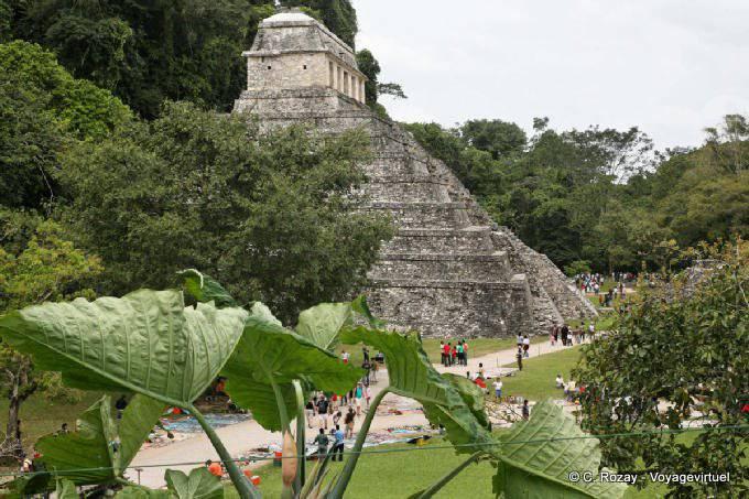 Palenque Templo De Las Inscripciones 9