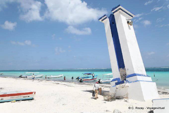 Puerto Morelos Autre Vue Du Vieux Phare 38