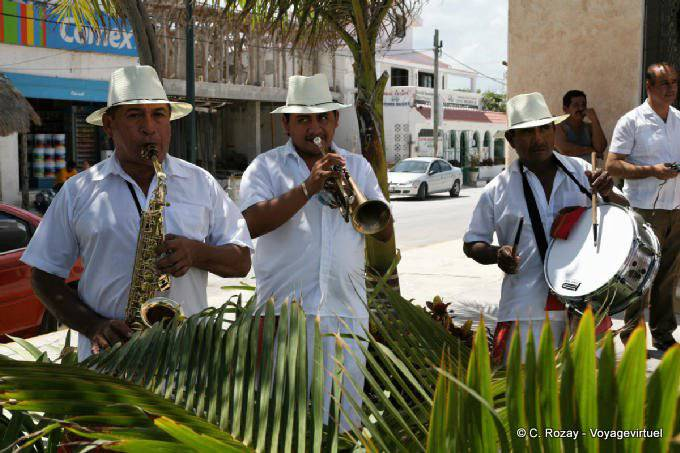 Puerto Morelos Musiciens 63